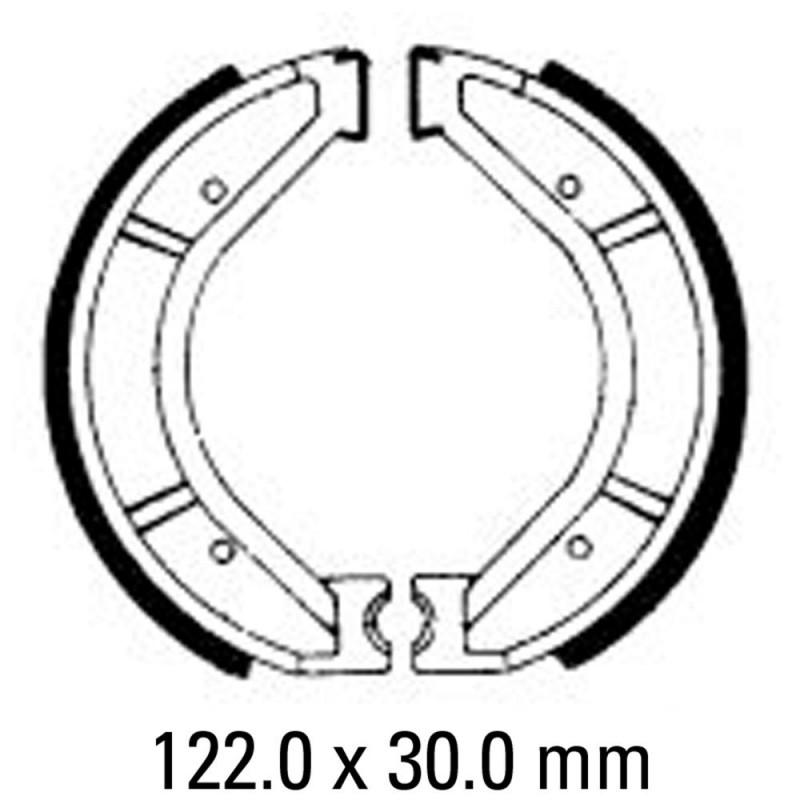 Предни/Задни мото накладки FERODO FSB825
