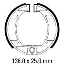 Предни/Задни мото накладки FERODO FSB847