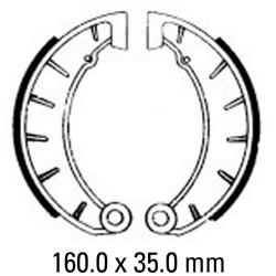 Предни/Задни мото накладки FERODO FSB854