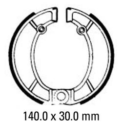 Предни/Задни мото накладки FERODO FSB857