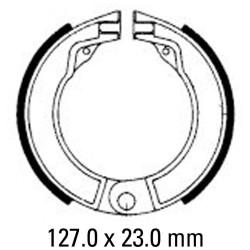 Задни мото накладки FERODO FSB875