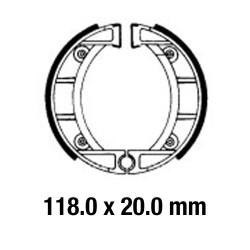 Предни/Задни мото накладки FERODO FSB907