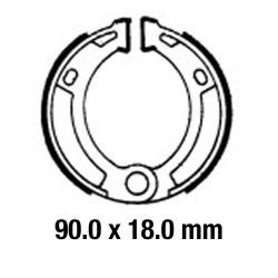 Предни/Задни мото накладки FERODO FSB908