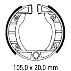 Предни/Задни мото накладки FERODO FSB910