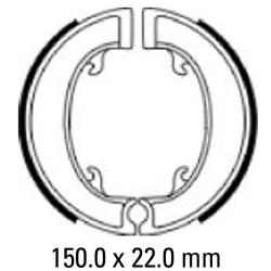 Предни/Задни мото накладки FERODO FSB918