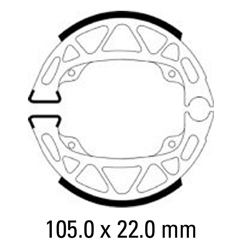 Предни/Задни мото накладки FERODO FSB952