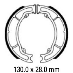 Задни мото накладки FERODO FSB960