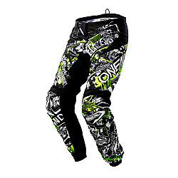 Детски крос брич O'NEAL ELEMENT ATTACK BLACK/HI-VIZ