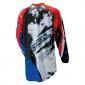 Мотокрос блуза O'NEAL ELEMENT SHOCKER BLACK/BLUE/ RED thumb
