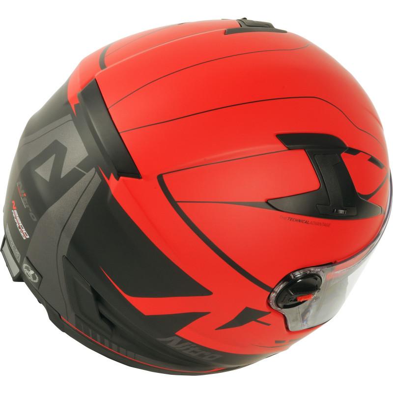 Каска NITRO N2200 ANALOG MATT RED/BLACK thumb