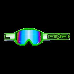 Мотокорос очила O'NEAL B1 RL FLAT GREEN RADIUM