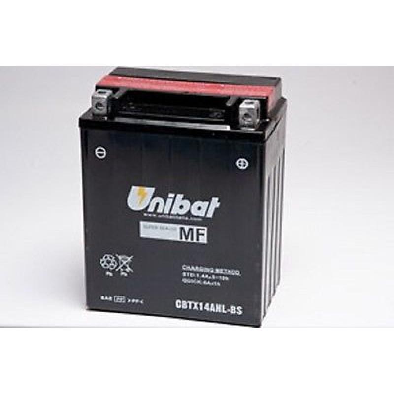 Акумулатор Unibat 12 Ah, 12 V - CBTX14AHL-BS