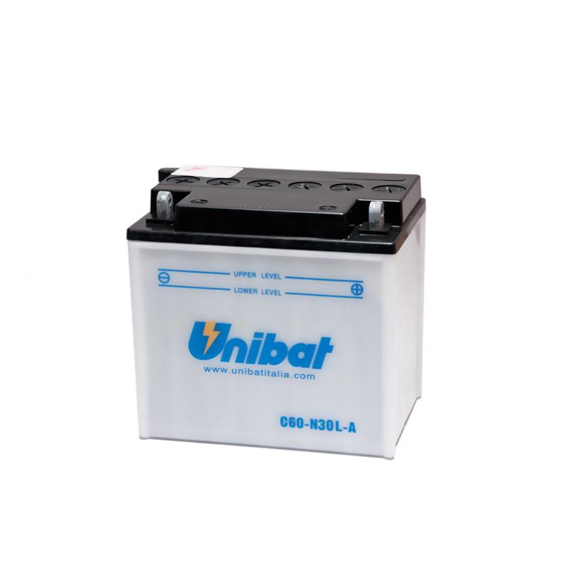 Акумулатор Unibat 30 Ah, 12 V - C60-N30L-A thumb