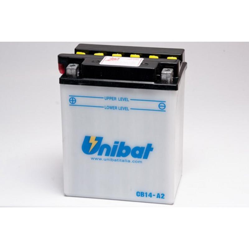 Акумулатор Unibat 14 Ah, 12 V - CB14-A2 thumb