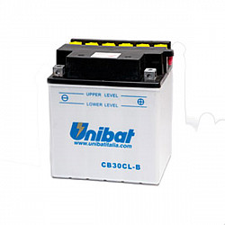 Акумулатор Unibat 30 Ah, 12 V - CB30CL-B