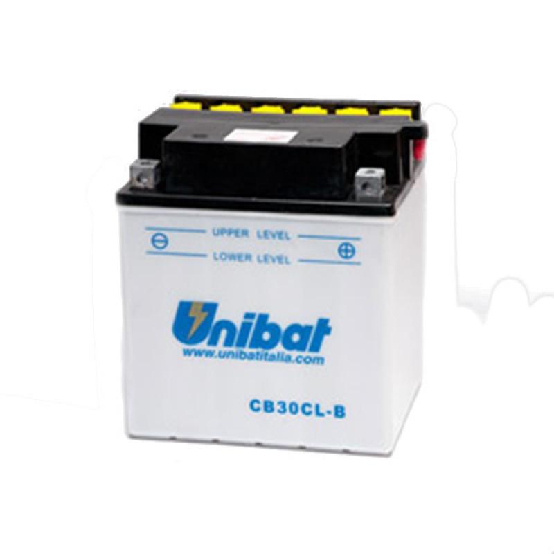 Акумулатор Unibat 30 Ah, 12 V - CB30CL-B thumb