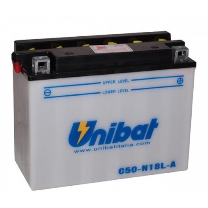 Акумулатор Unibat 20 Ah, 12 V - C50-N18L-A