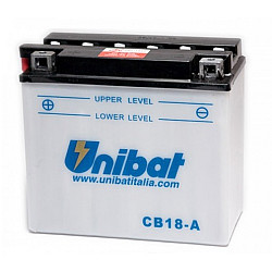 Акумулатор Unibat 18 Ah, 12 V - CB18-A