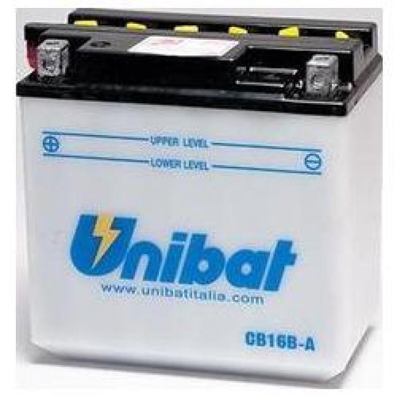 Акумулатор Unibat 16 Ah, 12 V - CB16B-A thumb