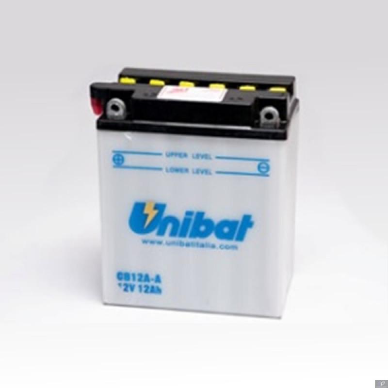 Акумулатор Unibat 12 Ah, 12 V - CB12A-A thumb