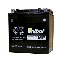 Акумулатор за мотор Unibat 27.5 Ah, 12 V - CIX30L-BS