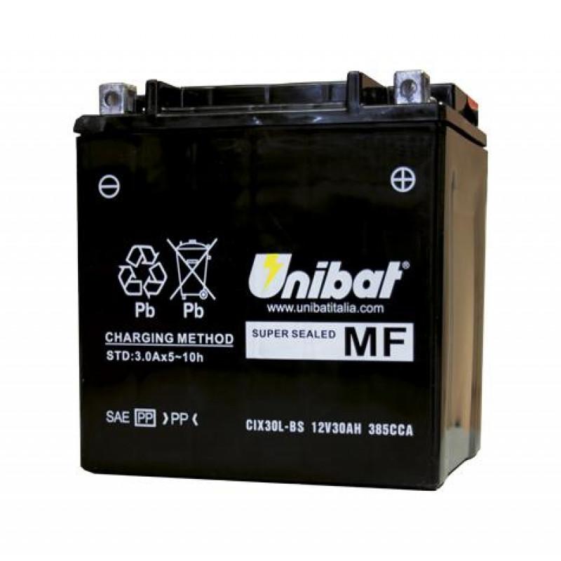 Акумулатор за мотор Unibat 27.5 Ah, 12 V - CIX30L-BS thumb