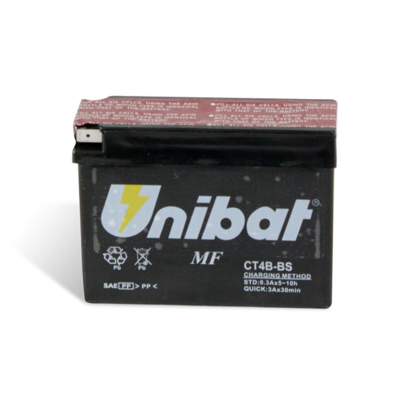 Акумулатор за мотор Unibat 2.3 Ah, 12 V - CT4B-BS thumb
