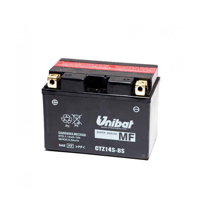 Акумулатор за мотор Unibat 11.2 Ah, 12 V - CTZ14S-BS thumb