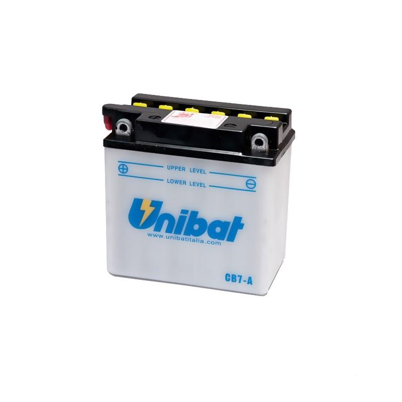 Акумулатор Unibat 8 Ah, 12 V - CB7-A thumb