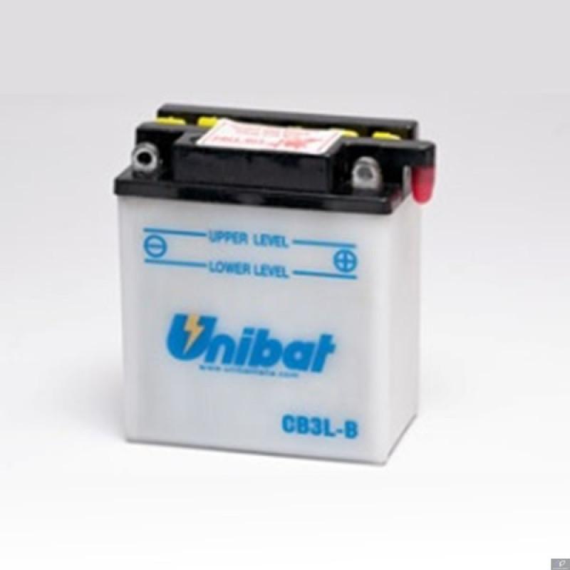 Акумулатор Unibat 3 Ah, 12 V - CB3L-B thumb