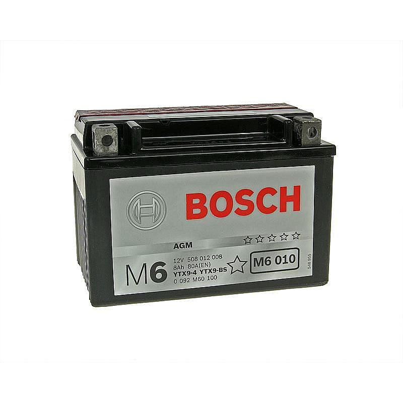 Акумулатор Bosch YTX9-BS thumb