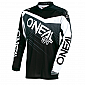 Мотокрос блуза O'NEAL ELEMENT RACEWEAR BLACK/GRAY