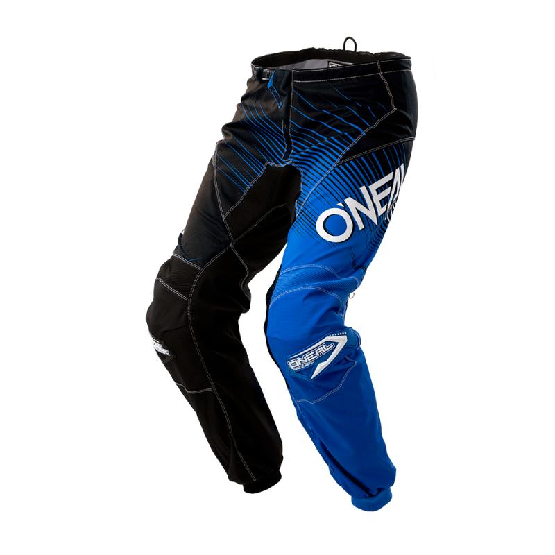 Мотокрос брич O'NEAL ELEMENT RACEWEAR BLACK BLUE 2