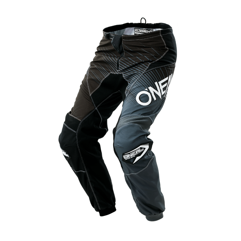 Мотокрос брич O'NEAL ELEMENT RACEWEAR BLACK/GRAY 2