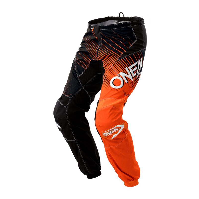 Мотокрос брич O'NEAL ELEMENT RACEWEAR BLACK/ORANGE 2