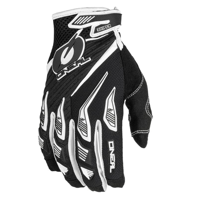 Мотокрос ръкавици O'NEAL SNIPER ELITE WHITE