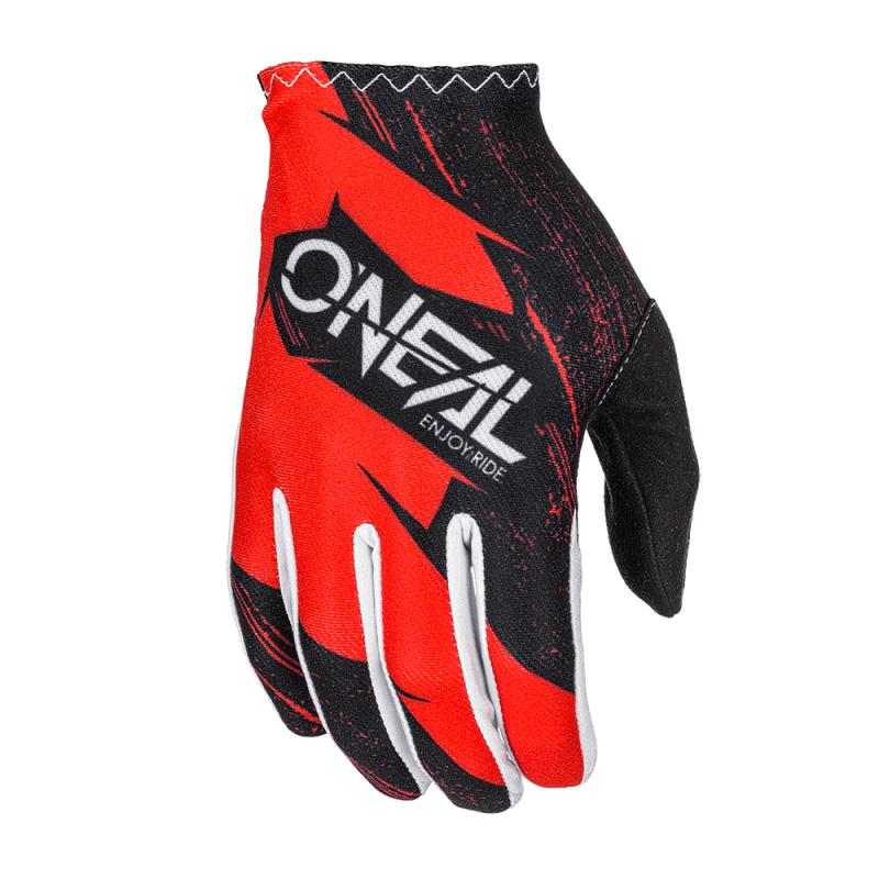 Мотокрос ръкавици O'NEAL MATRIX BURNOUT BLACK/RED