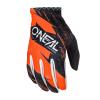 Мотокрос ръкавици O'NEAL MATRIX BURNOUT BLACK/ORANGE thumb