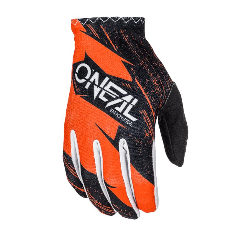 Мотокрос ръкавици O'NEAL MATRIX BURNOUT BLACK/ORANGE
