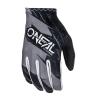 Мотокрос ръкавици O'NEAL MATRIX BURNOUT BLACK/GRAY thumb