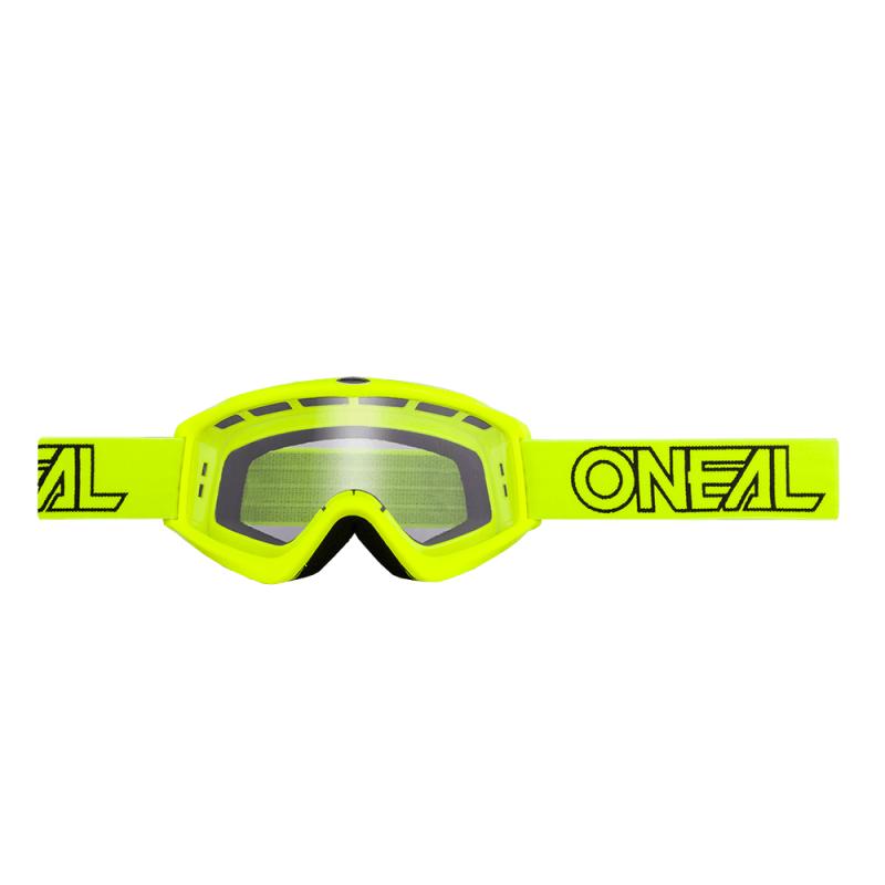Мотокрос очила O'NEAL B-ZERO SOLID HI-VIZ CLEAR