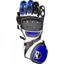 Кожени ръкавици AKITO SPORT MAX BLUE