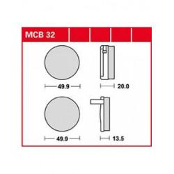Мото накладки TRW MCB32