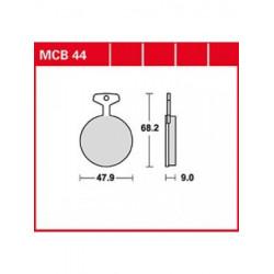 Мото накладки TRW MCB44