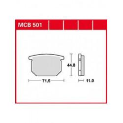 Мото накладки TRW MCB501