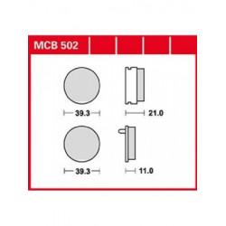 MOTO Накладки TRW MCB502