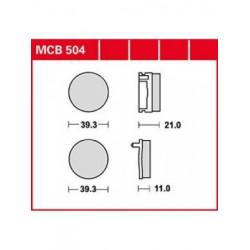MOTO Накладки TRW MCB504
