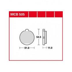 Мото накладки TRW MCB505