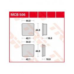 MOTO Накладки TRW MCB506
