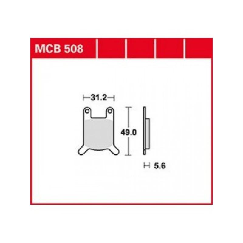 Мото накладки TRW MCB508 thumb